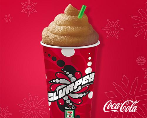 Coca-Cola holiday Slurpee at 7-Eleven