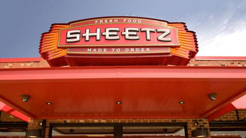 An exterior sign for Sheetz