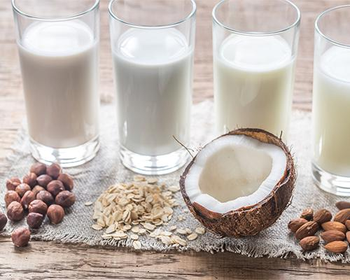 An image of alternative milk products
