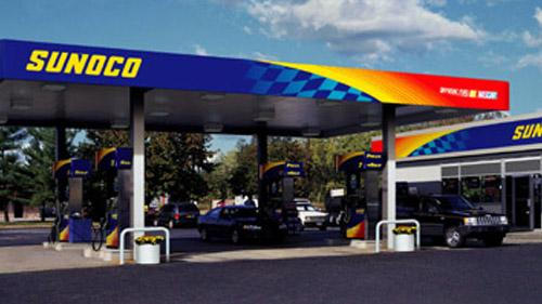 A Sunoco gas station