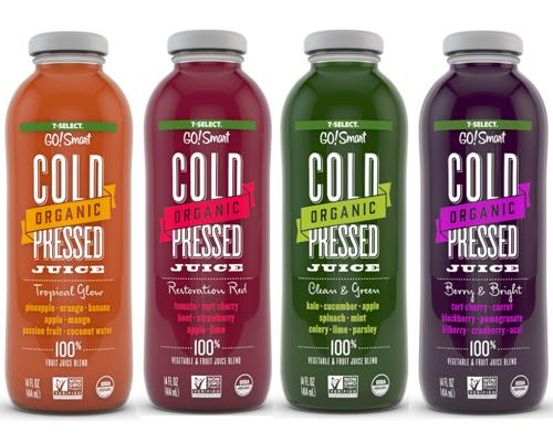 7-Select GO!Smart cold-pressed juices
