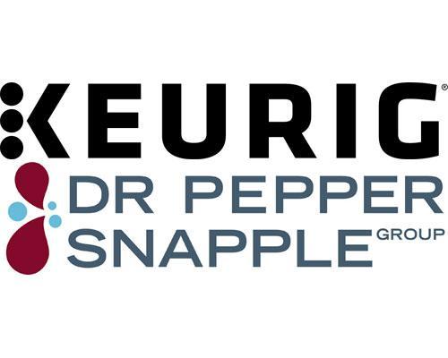 Keurig & Dr Pepper Snapple Group logos