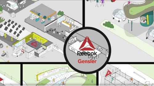 Reebok and Gensler's Get Pumped concepts