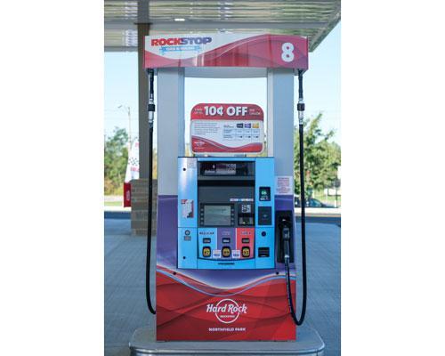 RockStop Gas & Wash fuel pump