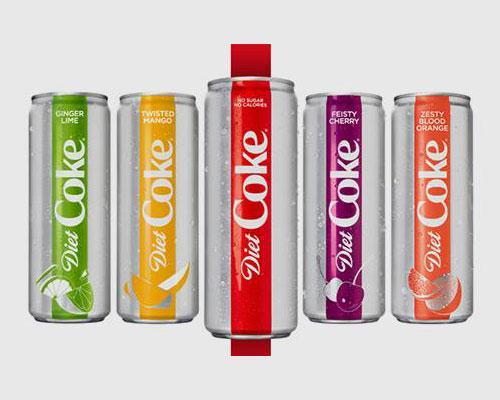 Diet Coke redesign