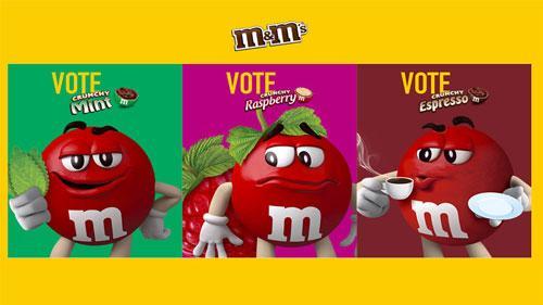 M&M'S Crunchy Flavor vote
