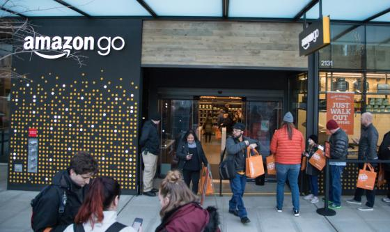 First-ever Amazon Go store opens in Seattle
