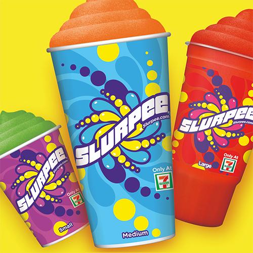 Redesigned Slurpee cups