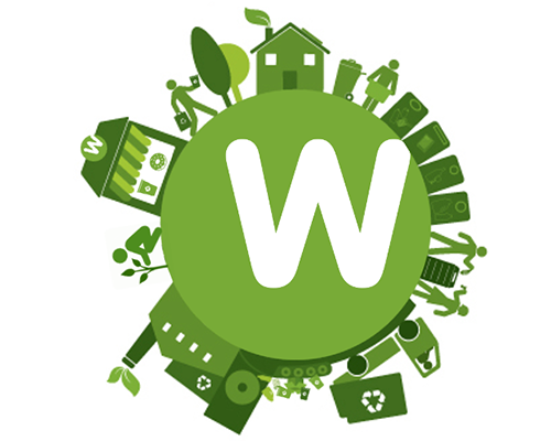 Weigel's recycling logo