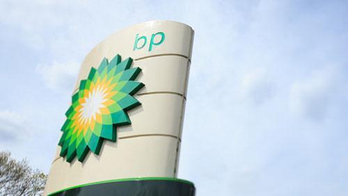 A BP sign