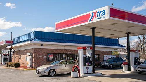 Global Partners hang for-sale sign on several properties, including this c-store/gas site in Upper Marlboro, Md.