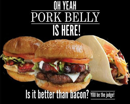 Rutter's Pork Belly