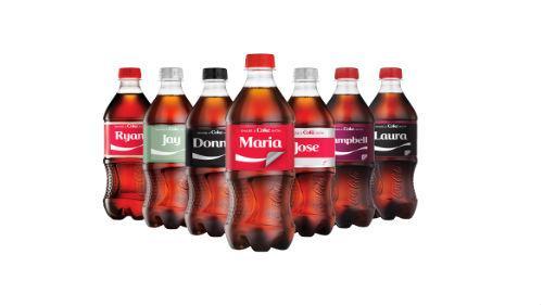 """""""Share a Coke"""" label stickers"""
