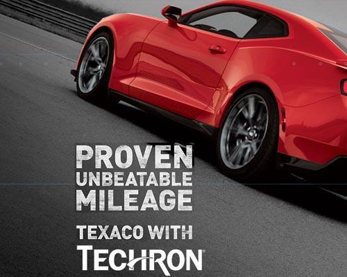 New creative for Texaco with Techron