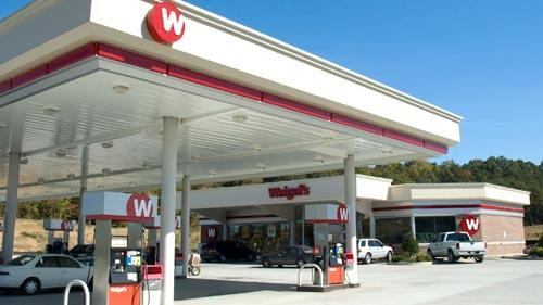 The exterior of a Weigel's convenience store