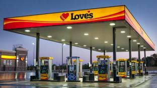 A Love's Travel Stop