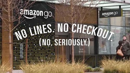 Amazon Go No Lines No Checkout
