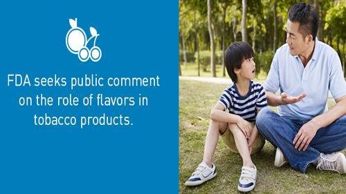ANPRM for flavored tobacco products