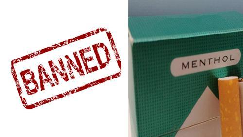 A ban on menthol cigarettes