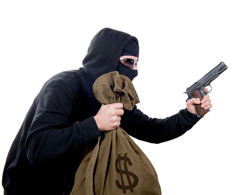 an armed robber