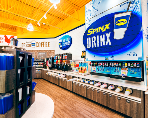Spinx store in Moncks Corner, South Carolina