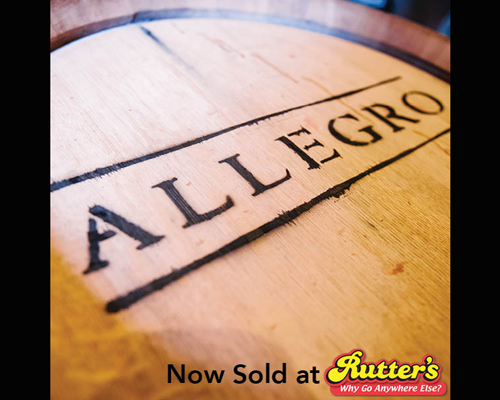 Allegro wines at Rutter's