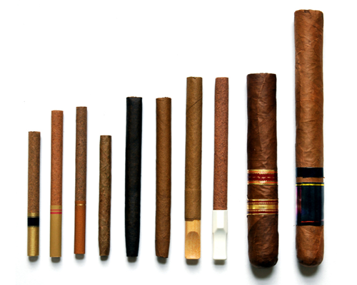 various cigar types