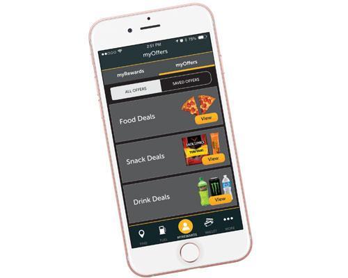 myPilot mobile app interface