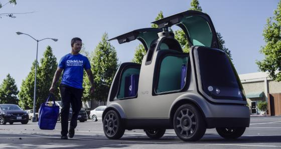 Kroger autonomous vehicle delivery