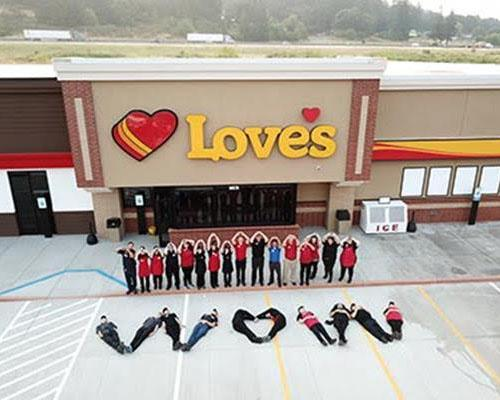 Love's began ringing up customers at its new Love's Travel Stop in Millersburg, Ore., on Aug. 16.