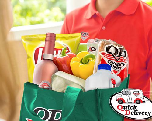 Quality Dairy's QD Quick Delivery