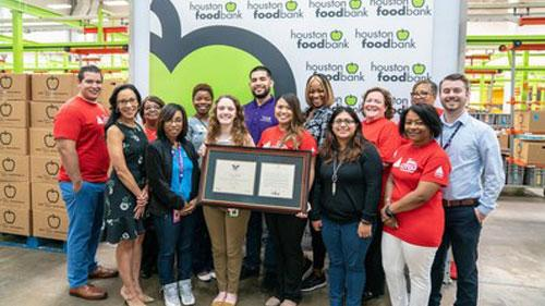 TeamCITGO honored by Houston Food Bank