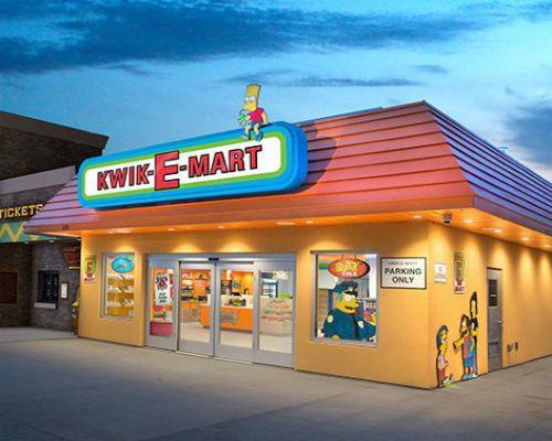 The Simpsons Kwik-E-Mart c-store in Myrtle Beach, S.C.