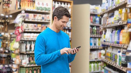 male shopper and an omnichannel approach