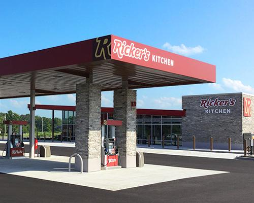 Ricker's new flagship store