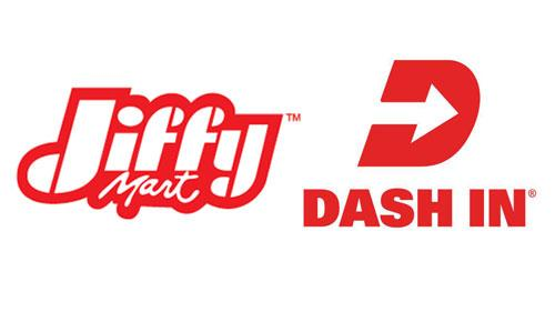 Jiffy Mart & Dash In logos