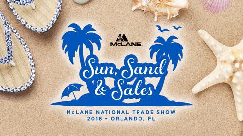 McLane National Trade Show 2018 logo