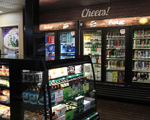 The remodeled East Amherst NOCO Express offers a greater beer selection, including a variety from local breweries.