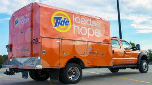 Procter & Gamble Tides Loads of Hope