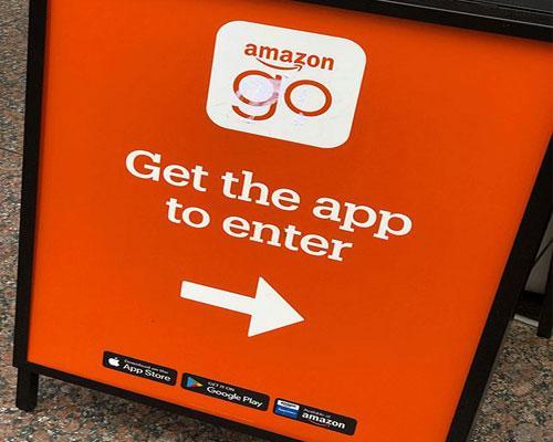 Amazon Go Chicago enter sign