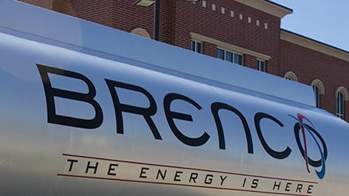 BRENCO fuel truck