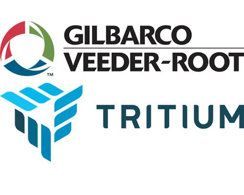 Gilbarco Veeder-Root & Tritium logos