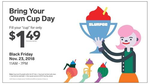 7-Eleven BYOC Black Friday promo