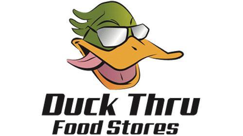 Duck Thru Food Stores logo