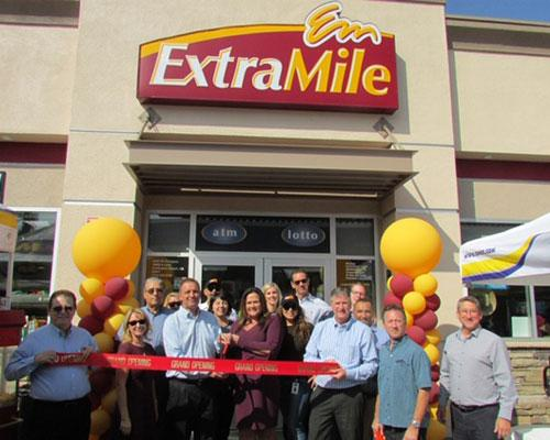 ExtraMile 800th store opening