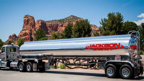 Jackson Energy fuel truck