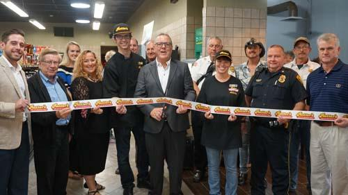 Rutter's held a grand opening for its second Altoona, Pa. convenience store.