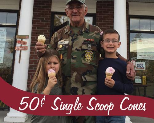 Stewart's Shops Veterans Day promotion