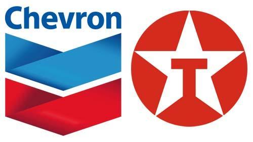 Chevron and Texaco logos