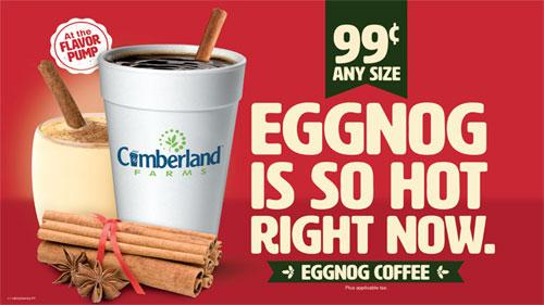 Cumberland Farms Eggnog Coffee